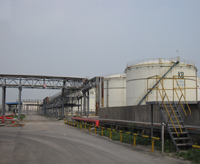 Changzhou chemical industry storage area